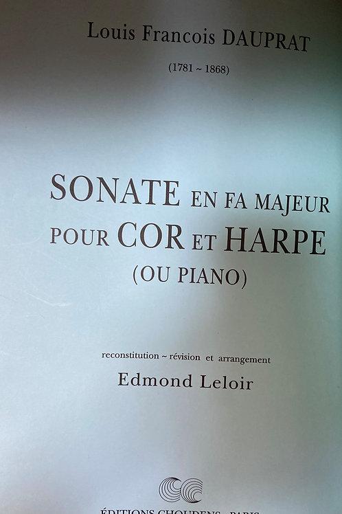 Dauprat: Sonata en Fa Majeur pour Cor et Harpe