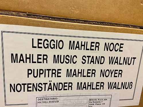 40% off Salvi Mahler music stand - walnut finish