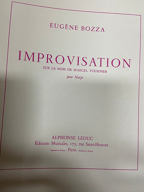 Bozza: Improvisations
