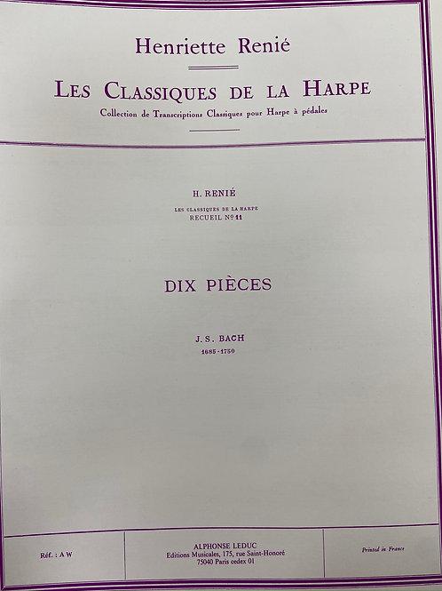 J.S. Bach: Dix Pieces arr. Renie