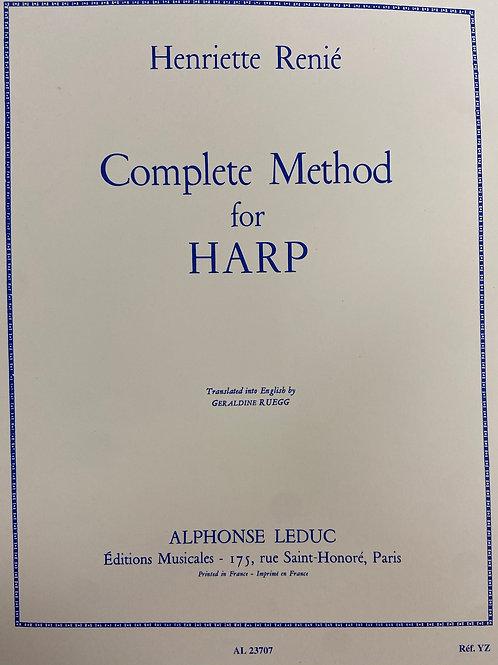 Renie: Complete Method for the Harp (bk1 & bk2)