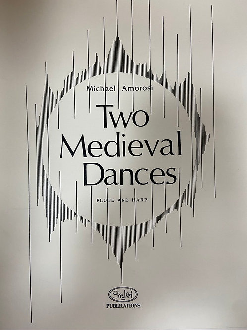 Amarosi: Two Medieval Dances fl and harp