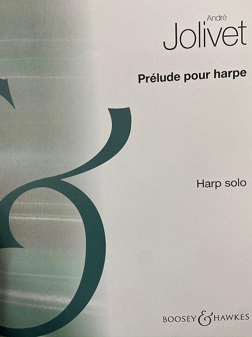 Jolivet: Prelude for Harp