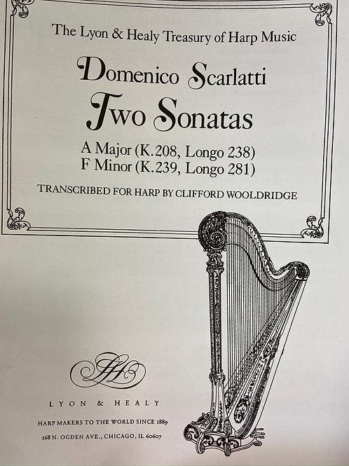 Scarlatti: Two Sonatas arr. Woolridge