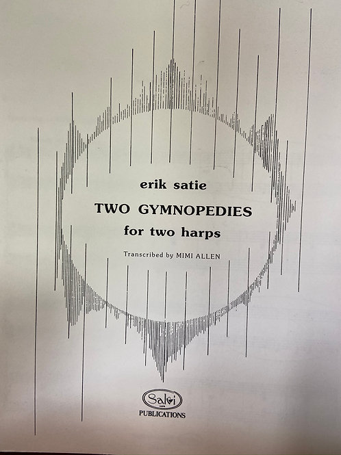 Satie: Two Gymnopedies for 2 hps arr. Allen