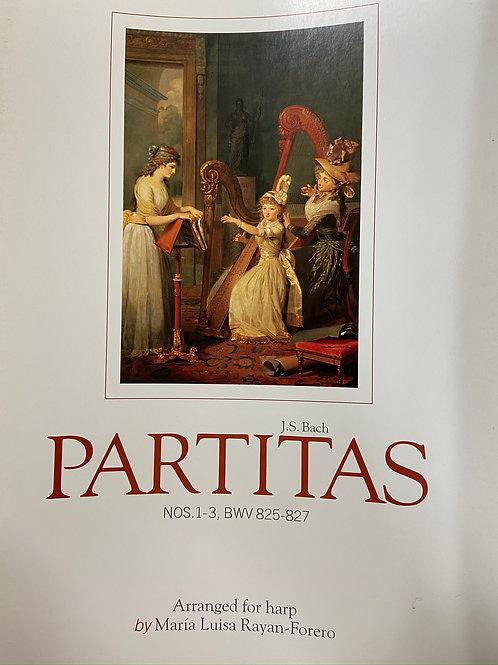 J.S. Bach: Partitas 1-3 arr. Rayan-Forero