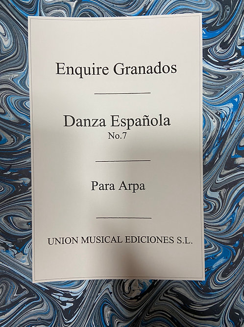Granados: Spanish Dance no. 7