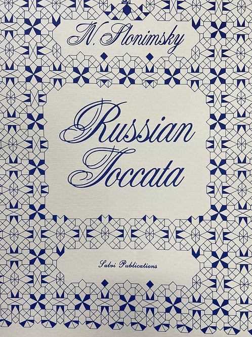 Slonimsky: Russian Toccata