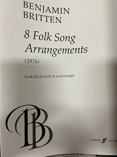 Britten: 8 Folk Songs Arrangements