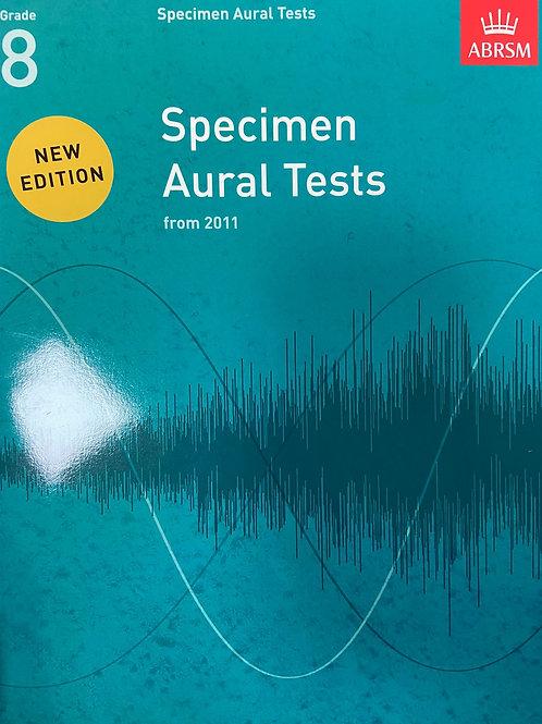 ABRSM: Specimen Aural Tests Grades 8 (2011)