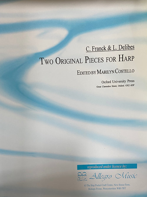 Franck & Delibes: Two Original Pieces for Harp