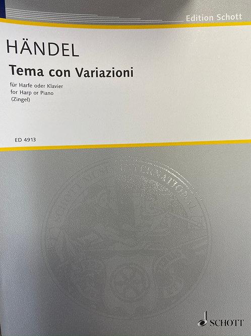 Handel: Theme and Variations (Zingel)