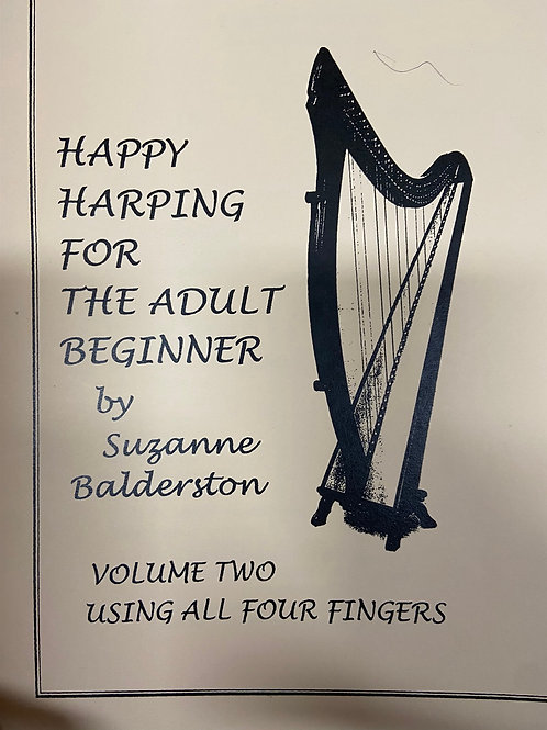 Balderston: Happy Harping for Adult Beginners Vol 2