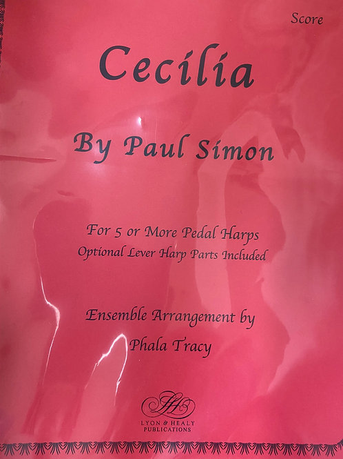 Simon: Cecilia arr. Tracy for 5 or more harps