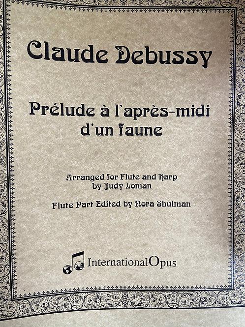Debussy: Prelude a l'apres-midi d'un faune arr. Loman for flute and harp