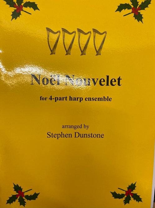 Dunstone: Noel Nouvelet for 4 part harp ensemble