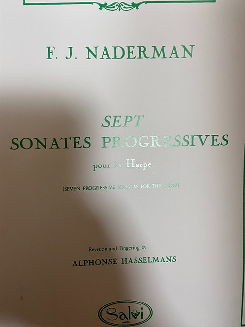 Naderman: Sept Sonates Progressives arr. Hasselmans