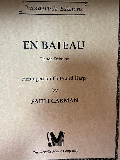 Debussy: En Bateau arr. fl & hp by Carman