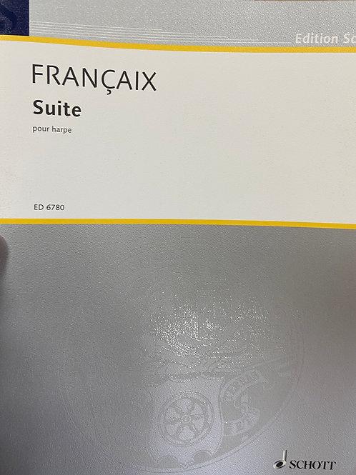 Francaix: Suite for Harp