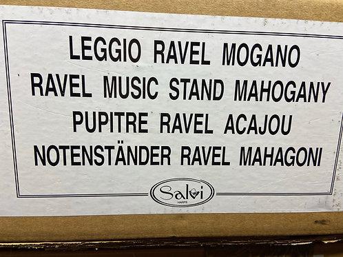 40% off Salvi Ravel music stand - mahogany finish