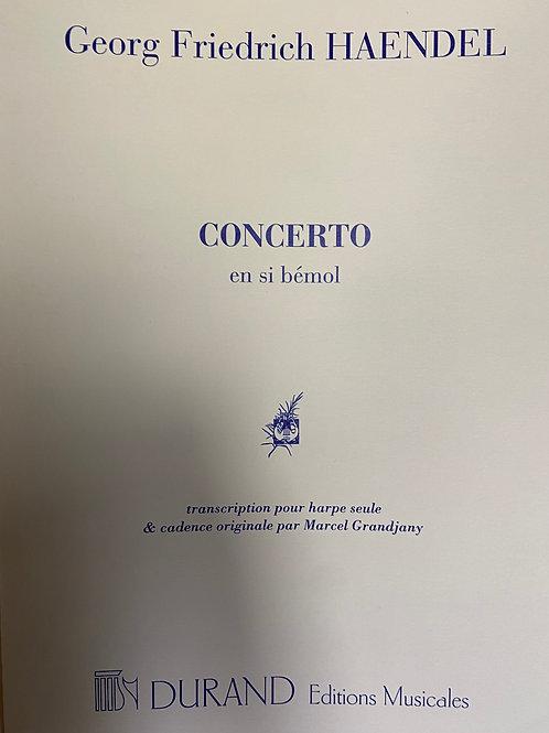 Handel: Concerto arr. Grandjany