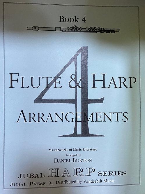 Burton: Flute and Harp Book 4
