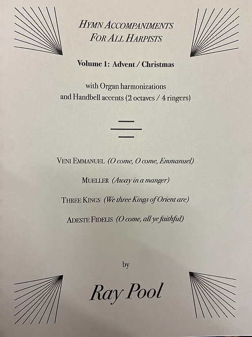 Pool: Hymn Accompaniments for Harpists Vol 1 Christmas
