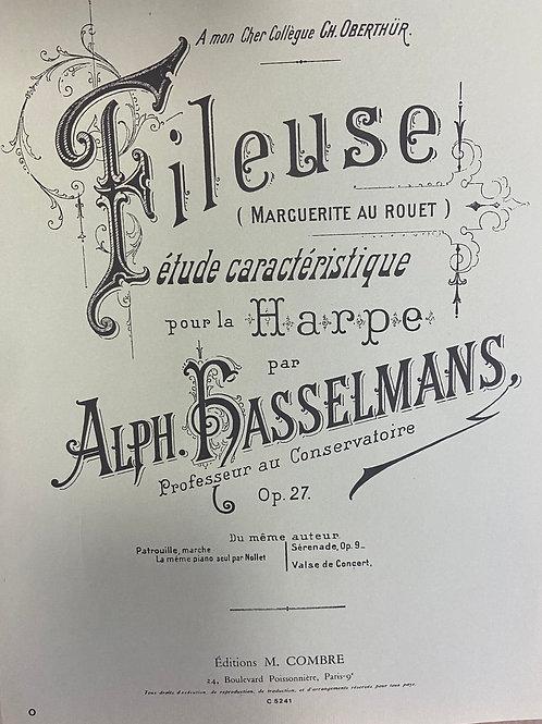 Hasselmans: Fileuse Opus 27 Marguerite Au Rouet