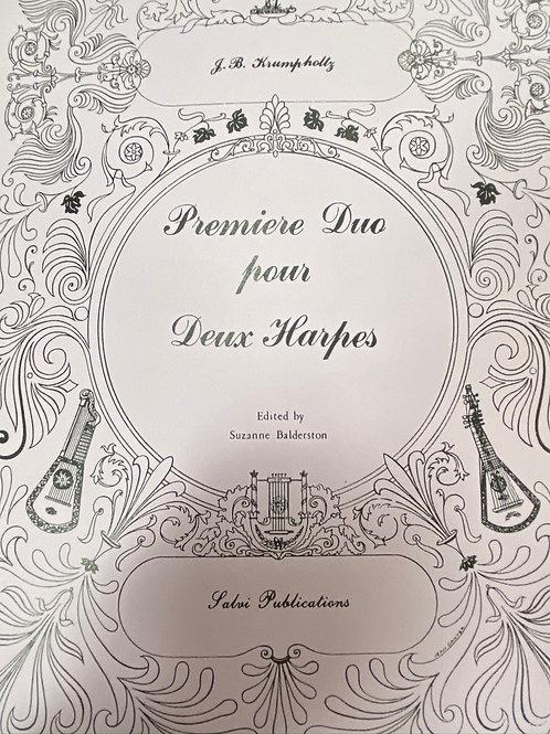 Krumpholtz: Premiere Duo Pour Deux Harpes