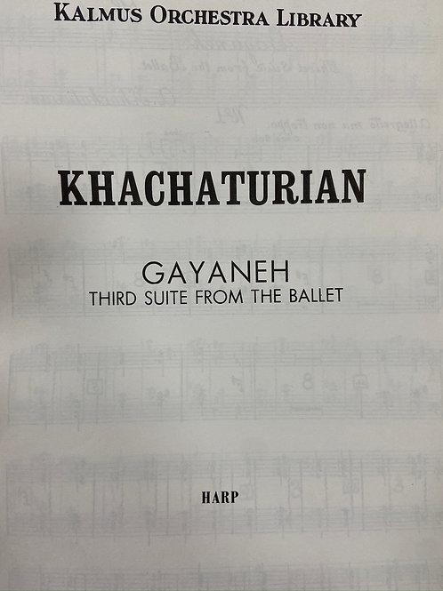 Khachaturian: Gayaneh Third Suite hp pt