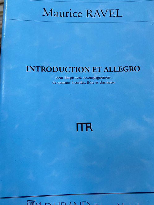 Ravel: Introduction and Allegro min. score