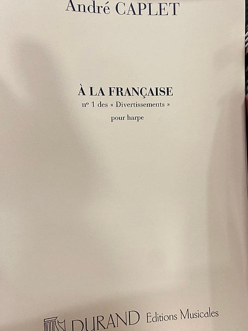 Caplet: Divertissements a L'Francais