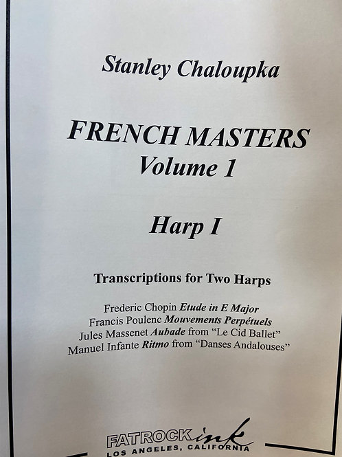 Chaloupka: French Masters Vol. 1 for 2 hps