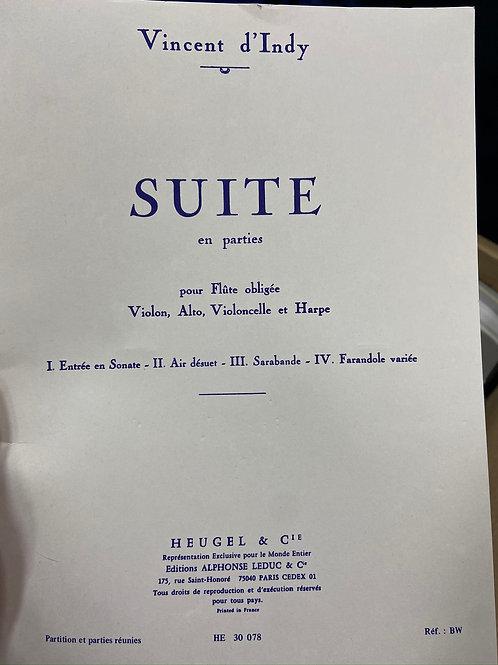 Indy: Suite parts