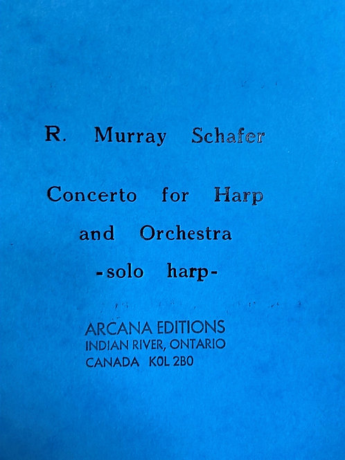 Schafer: Concerto for harp and orchestra - solo harp
