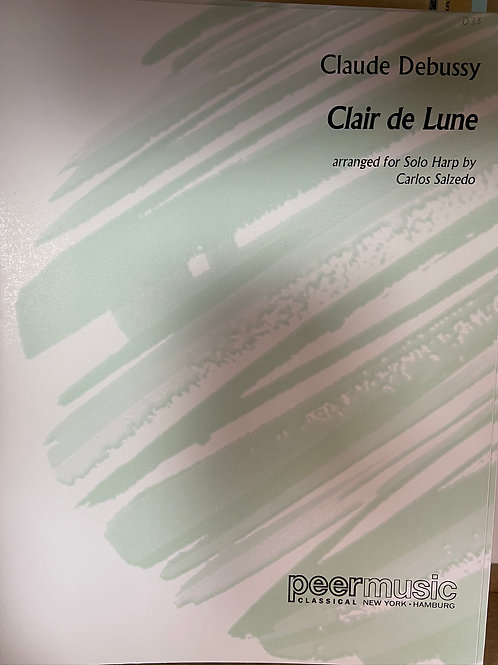 Debussy: Clair de Lune arr. Salzedo