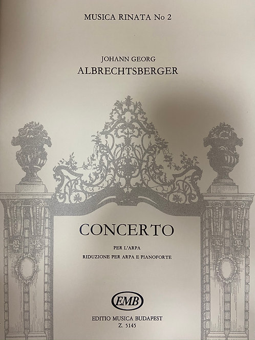 Albrechtsberger: Concerto (Hp and Pno red)