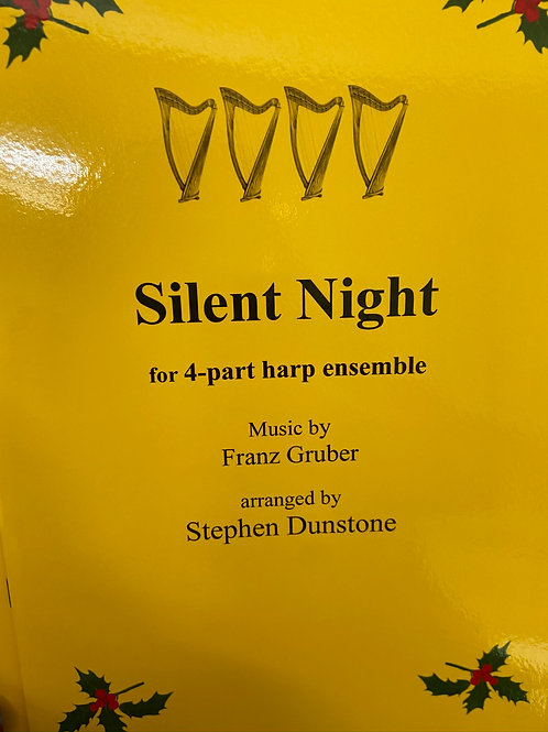 Dunstone: Silent Night for 4 part harp ensemble