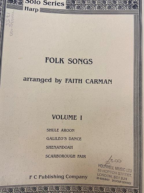arr. Carman: Folk Songs Vol. 1