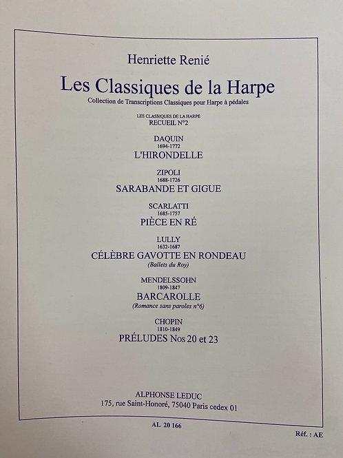 Renie: Classiques De La Harpe #2