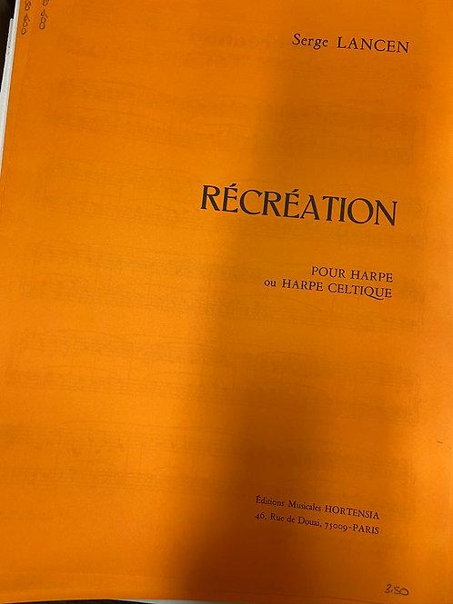 Lansen: Recreation
