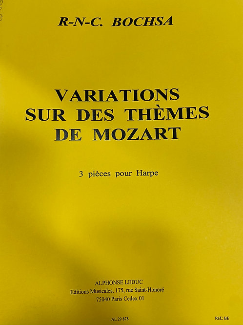 Bochsa: Variations on a Theme of Mozart