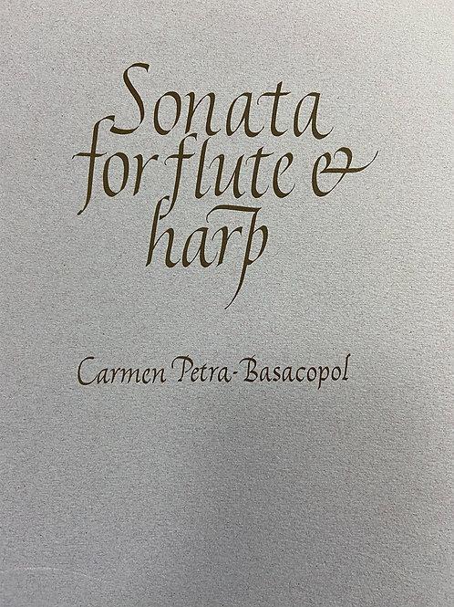 Petra-Basacopol: Sonata for flute and harp