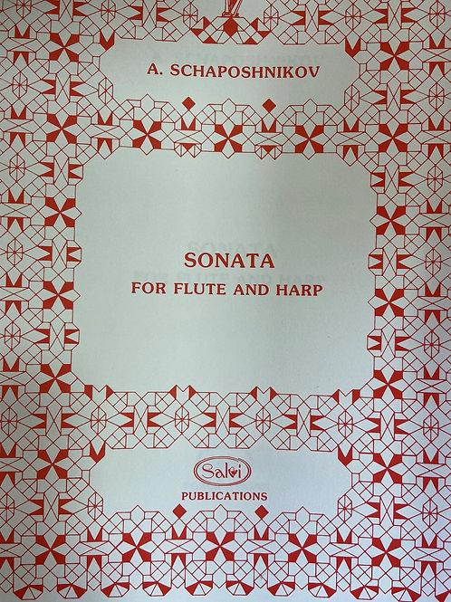 Schaposhnikov: Sonata for flute and harp