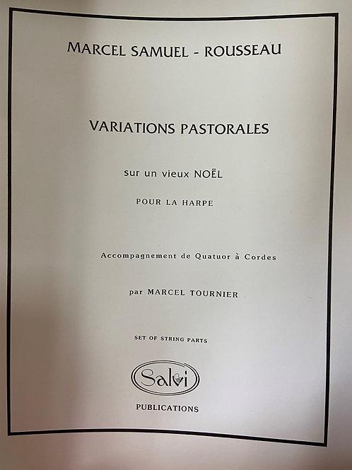 Samuel-Rousseau: Variations Pastorales (set of string parts