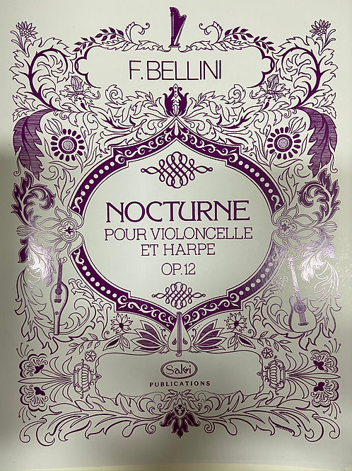Bellini: Nocturne for cello and harp
