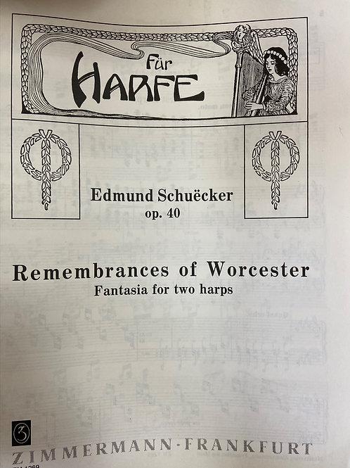 Schuecker: Remembrances of Worcester 2 harps