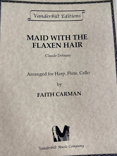 Debussy: Maid with the Flaxen Hair arr. Carman for flute, cello and harp