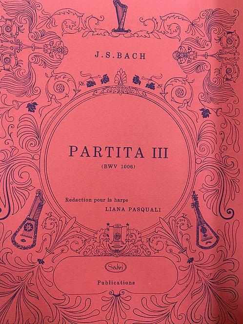 J.S. Bach: Partitas 3 arr. Pasquali