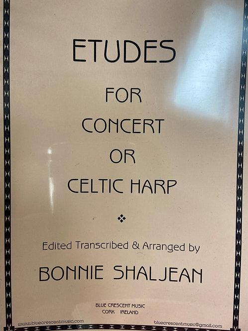 Shaljean: Etudes for Concert or Celtic Harp